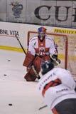 разбейте хоккей milano стоковая фотография
