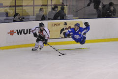 разбейте хоккей milano стоковые фотографии rf