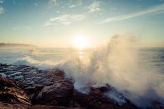 Разбивать волн Стоковые Фото