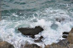разбивать трясет волны Стоковое Изображение RF