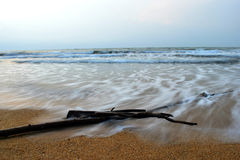разбивая волны Стоковая Фотография RF