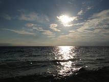 разбивая волны Стоковое Изображение RF