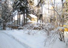разбивочная зима surgut ясного дня церков историческая Стоковые Фотографии RF