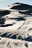 разбивочная лыжа mavrovo македонии Стоковые Фотографии RF