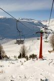 разбивочная лыжа mavrovo македонии Стоковая Фотография RF