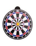 Разбивочная съемка дротика на dartboard нерезкости в coucept успеха Стоковые Фотографии RF