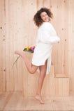 разбивочная сь женщина спы Стоковая Фотография RF