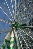 разбивочное колесо ferris стоковые изображения