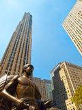 разбивочное новое Рокефеллер york Стоковое фото RF