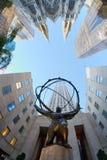 разбивочное новое Рокефеллер york Стоковые Фото