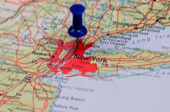 разбивочное финансовохозяйственное New York Стоковые Фото