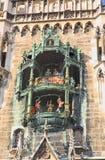 разбивочное marienplatz munich здание муниципалитет Стоковое Изображение RF