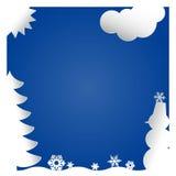 разбивочные цветы состоят льда рамки краев контраста зима текстуры снежка картин холодного низкая Стоковая Фотография