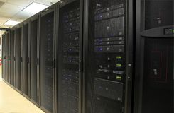 разбивочные данные будут фермером сервер Стоковая Фотография RF