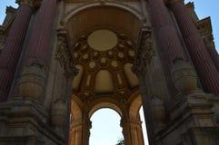 Разбивочный дворец павильона изящных искусств Сан-Франциско Стоковая Фотография