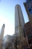 разбивочный город chicago городской Стоковое Фото