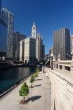 разбивочный город chicago Стоковое фото RF
