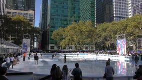 разбивочный город новое Рокефеллер york сток-видео