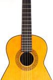 разбивочный испанский язык гитары урожая Стоковые Изображения RF