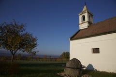 Разбивочный камень Бургенланда, Австрии Стоковое фото RF