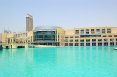 разбивочный мир UAE покупкы мола s Дубай самый большой Стоковая Фотография RF