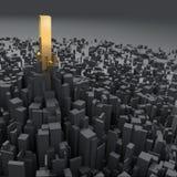разбивочный предмет принципиальной схемы города Стоковое Изображение RF