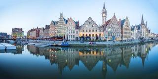 Разбивочный рынок Гента, Бельгии Стоковое Изображение RF