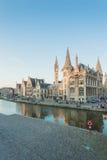 Разбивочный рынок Гента, Бельгии Стоковая Фотография