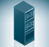 разбивочный сервер интернета данных Стоковые Фотографии RF