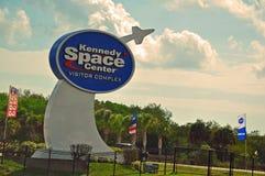 разбивочный сложный визитер космоса Кеннедай Стоковая Фотография