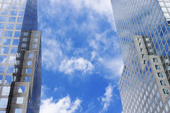 разбивочный финансовохозяйственный мир Стоковая Фотография