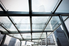 разбивочный финансовохозяйственный небоскреб shanghai lujiazui Стоковое фото RF