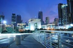 разбивочный international Дубай финансовохозяйственный стоковые фото