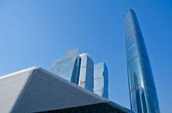 разбивочный international gzifc guangzhou финансов Стоковая Фотография