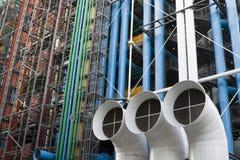 разбивочный pompidou Стоковые Фотографии RF