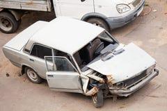 Разбили автомобили Стоковые Изображения RF