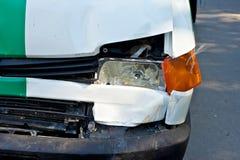 разбили автомобиль, котор Стоковое Фото