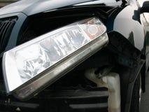 разбили автомобиль, котор Стоковые Изображения RF