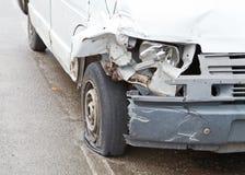 Разбили автомобиль Стоковая Фотография