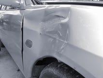 разбили автомобиль стоковые фотографии rf