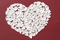 разбитый сердце Стоковые Изображения RF