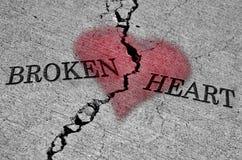Разбитый сердце Стоковое фото RF