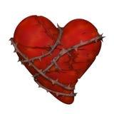 Разбитый сердце, lovesickness Стоковые Изображения RF