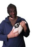 разбойник банка Стоковое фото RF