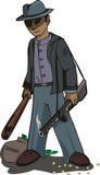 разбойник банка Стоковые Изображения RF