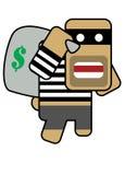 разбойник blockhead Стоковые Фото