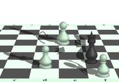 Разбойничество шахмат Стоковые Фотографии RF