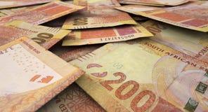 Разбросанная куча банкноты Стоковое Фото