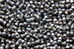 Разбросанная пневматическая пуля (для снимать) стоковые фото