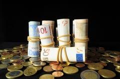 Разбросанные деньги стоковое изображение rf